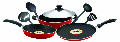 Pigeon Induction Base Non-Stick Gift Set, 8 Pieces