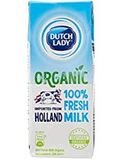 Dutch Lady Organic Fresh UHT Milk (Holland) 200ml (Pack of 3)