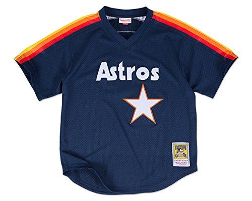 Craig Biggio Houston Astros Mitchell & Ness Authentic 1991 BP Jersey (Small)