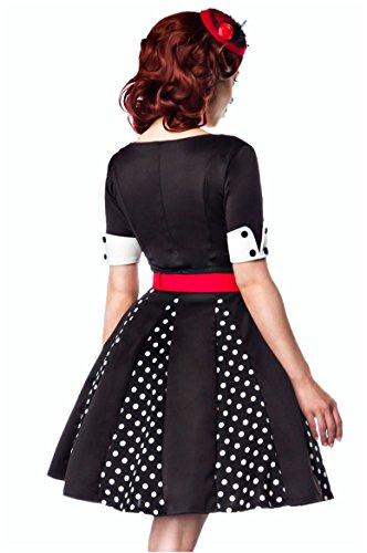 White 1001 Women's Black Red Dress Sachen A Line Black kleine nwHS8wqpvU