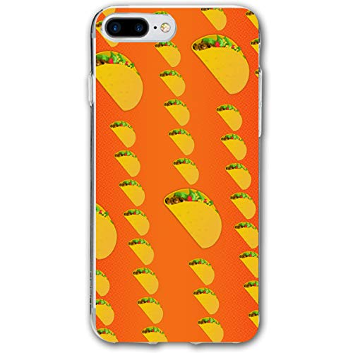 customgogo for iPhone 7 Plus Case, for iPhone 8 Plus Case, Taco Quest Ultra Thin Mobile Phone Cover Case Shell Shockproof Full-Body Protective Case Cover for iPhone 7 Plus /8 Plus 5.5