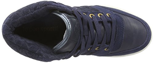 Hautes SR Sportif Kimmy Dress Coq Blues Le Bleu Bleu Baskets Mid Femme WSBqYnT1w