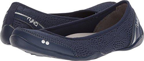 Ryka Women's Sandra Walking Shoe, Blue/Silver, 9 M US