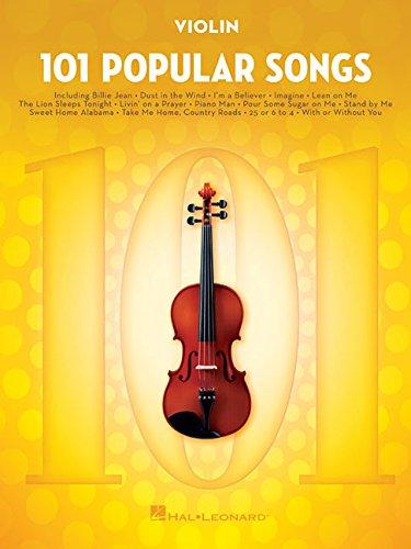 101 Popular Songs: for Violin