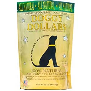 Amazon.com : Doggy Dollars All Natural Premium Beef Dog