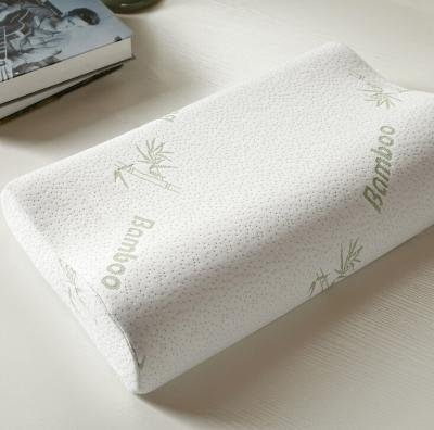 Home Soft Contour Orthopedic Bamboo Fiber Sleeping Pillow Memory Foam Pillows (Contour Pillow Set)