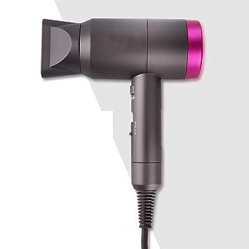 GZ Zero Radiación Secador de Cabello Inicio Tienda de peluquería Mute High Power Hidratante Negativo Ion Gris: Amazon.es: Hogar