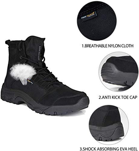 Free Soldier D'extérieur sans Hommes Bottes Tactique tempête Ultra Léger Respirant Durable Chaussure 3
