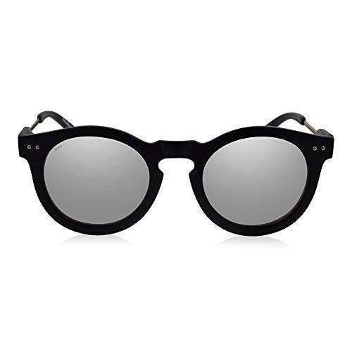 SHAKAS HAWAII UV 400 Large Round Classic Mirrored Customizable Hawaiian Sunglasses Active Lifestyle For Men And Women
