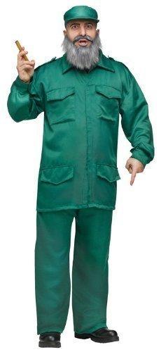 Hombre-disfraz Fidel Castro dictador cubano - ejército ...