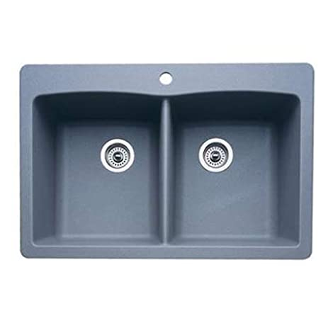 blanco 511 603 kitchen sink   2 bowl blanco 511 603 kitchen sink   2 bowl   double bowl sinks   amazon com  rh   amazon com