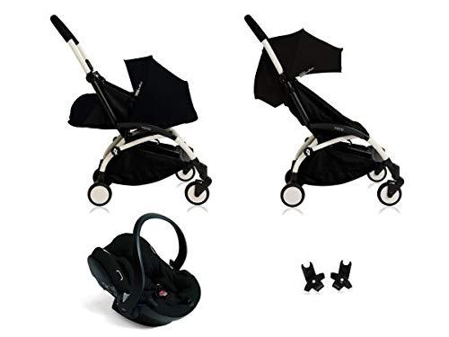 60% de descuento Babyzen Poussette Yoyo+ complète Cadre blanco habillages habillages habillages 0+ et 6+ negro et siège Auto iZi Go Modular negro  precios bajos todos los dias