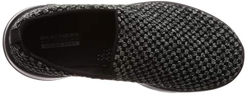 M Negro Joy Mujer 11 US Skechers15616 B Soothe Go Negro Walk znBFH