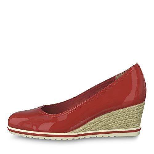 Tacco Chili 520 Scarpe Donna 22441 Tamaris Con 1 Rosso Patent rAAXnwTqz