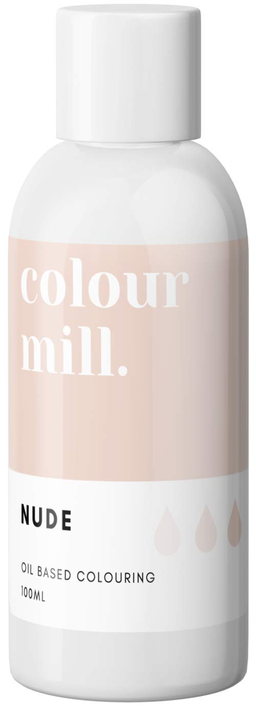 Colour Mill Oil-Based Food Coloring, 100 Milliliters Nude