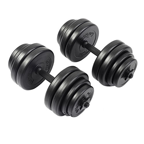 Giantex Adjustable Barbell Workout Dumbbell