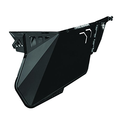 Pro Armor RZR XP 1000 Black Bolt On Traditional Door P141D000BL (Xp Doors Rzr 1000)
