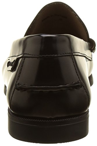 Black II para Plaza Mocasines Negro Leather Mujer Sebago YzH8PY