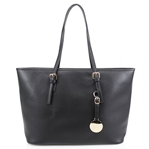 Femme Style Unisexe Hb Cabas Adulte Luxe De Fille Noir WFf4q6fc