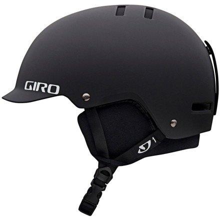 Giro Surface-S Snow Helmet (Matte Black, Medium), Outdoor Stuffs