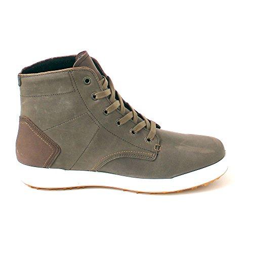 Lowa London II GTX QC, Sneaker a Collo Alto Uomo Braun (olive/beige)