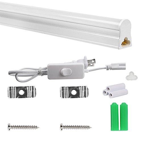 Hykolity T5 LED Shop Lights 4FT, 22W, 2200lm, 4000K