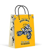 Premium Dirt Bike Party Bags, Bike Race Party Favor Bags, Treat Bags, Gift Bags, Goody Bags, Party Favors, Party Supplies, Decorations, 12 Pack