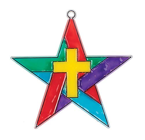 Concordia Publishing House Stars in The Sky Suncatcher - Pack of 12 - Miraculous Mission VBS by CPH