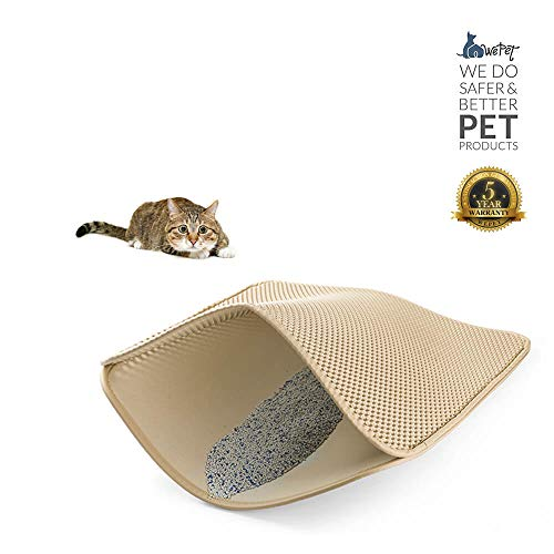 Wepet Original Cat Litter Mat Large Kitty Litter Box