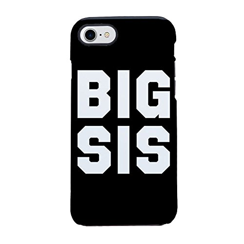 CafePress - Big Sis Full Bleed - iPhone 8 / iPhone 7 Phone Case, Tough Phone Shell