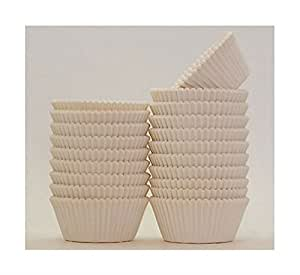200 Ivory Off-White Greaseproof Cupcake/Baking cup