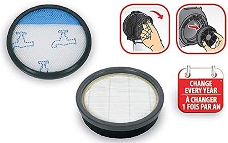 Rowenta - Kit de filtración para aspiradoras sin Bolsa Swift Power Cyclonic ZR904301, Color Gris: Amazon.es: Hogar