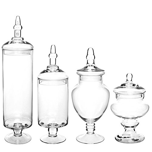 Buy large apothecary jars with lids