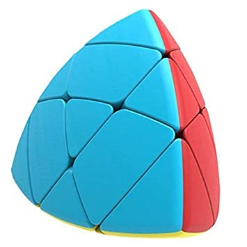 Premsons Pyramid Cube Mastermorphix, Rock Magic Cube Rubik Cube for Kids (Triangle) (Multicolor)