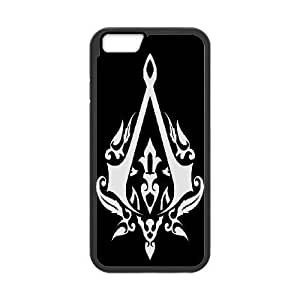 iPhone6s Plus 5.5 inch Phone Case Black Assassin Creed-5 ZDC424839