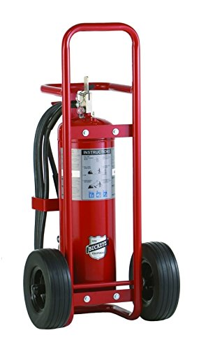 Buckeye 150 Lb. Abc Wheeled Stored Pressure Dry Chemical W/Rubber Tires Ul Rating 40A:240B:C (30110)