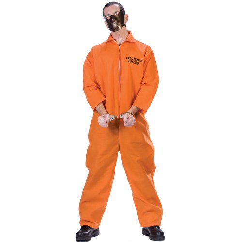 Fun World Men's Cell Block Psycho Adlt Cstm, Mulricolor, One Size