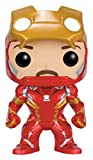 Funko POP! Marvel Captain America Civil War : Iron Man Unmasked #136 Vinyl Figure