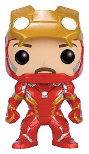 Funko POP! FK7225 3.94-Inch Marvel Captain America 3 Civil War Iron Man Unmasked Vinyl Limited Edition Figure