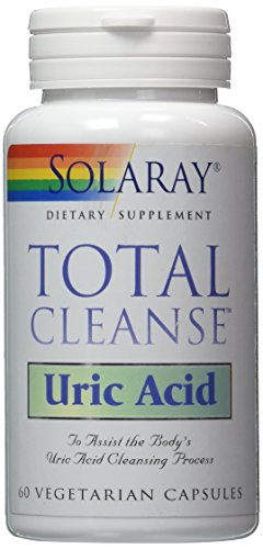SOLARAY TOTAL CLEANSE URIC ACID 60 Vegetarian Capsules