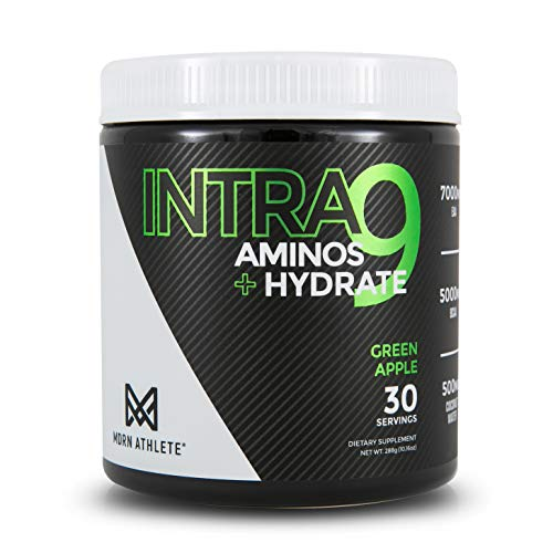 MDRN Athlete Intra9TM, All 9 Essential Amino Acids, 5 Grams 2:1:1 Branched Chain Amino Acids, Keto-Friendly BCAAs for Recovery and Enhanced Hydration