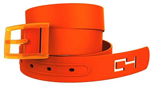 Orange Belt and Orange Buckle. Great for Pumpkin Similar Halloween Cosplay Costume