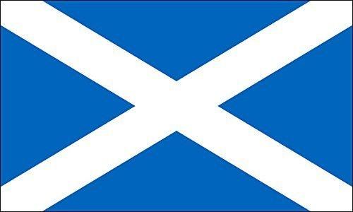 (GHaynes Distributing Scotland Flag Sticker Decal (scottish st andrews cross) Size: 3 x 5 inch)