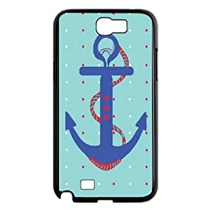 Samsung Galaxy Note 2 N7100 Phone Cases Black Anchor Quotes MN3384276
