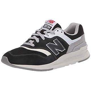 New Balance Men's 997H V1 Sneaker, Black/RAINCLOUD, 6 D US