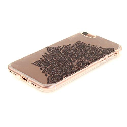 MOONCASE iPhone 7 Hülle Case,Slim Handyhülle Schutzhülle Rutschfestem TPU Soft Backcover Bumper Case für iPhone iPhone 7 TX18