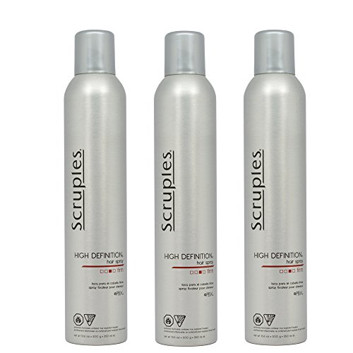 "Scruples High Definition Hair Spray 10.6oz ""Pack of 3"""
