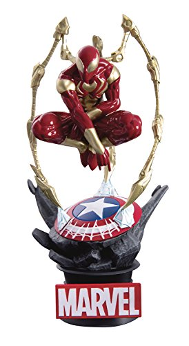 Beast Kingdom Avengers Infinity War: Ds-015 Iron Spider D-Select Series Statue