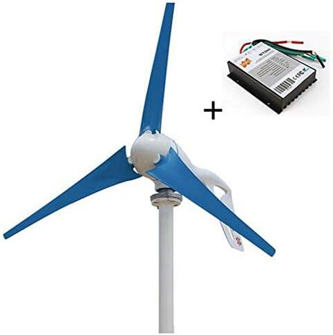 MEIGONGJU AC12V 24V Wind-Turbine-Generator 400W Kleiner Mini-Windmühle Wind 3/5/6 Klingen Controller Lade Generator für Marinelicht Land