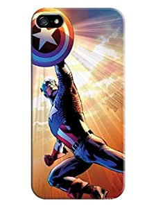 New Style fashionable Design Plastic Marvel Comic Harley Quinn Case Cover for iphone 5/5s